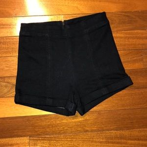 High waisted shorts! Zips down the back